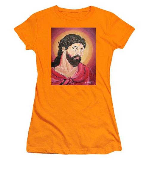 A Crown Of Thorns Women's T-Shirt (Junior Cut) by John Keaton