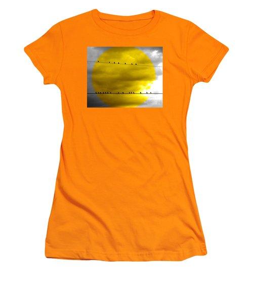 All Around The World Women's T-Shirt (Junior Cut) by France Laliberte