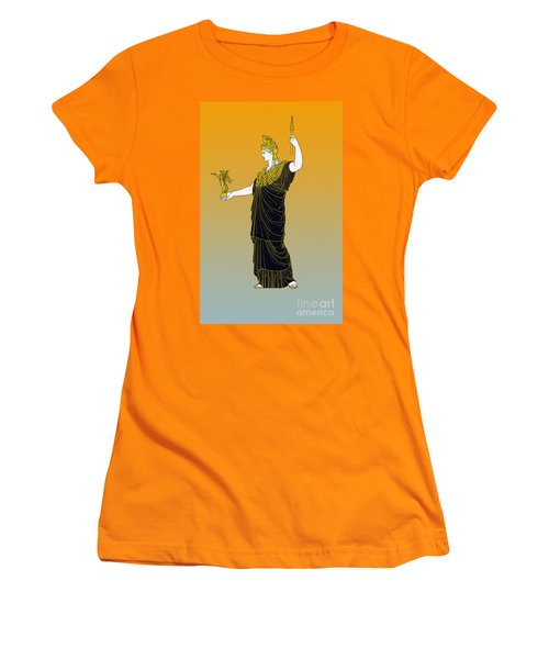 Athena, Greek Goddess Women's T-Shirt (Junior Cut) by Photo Researchers