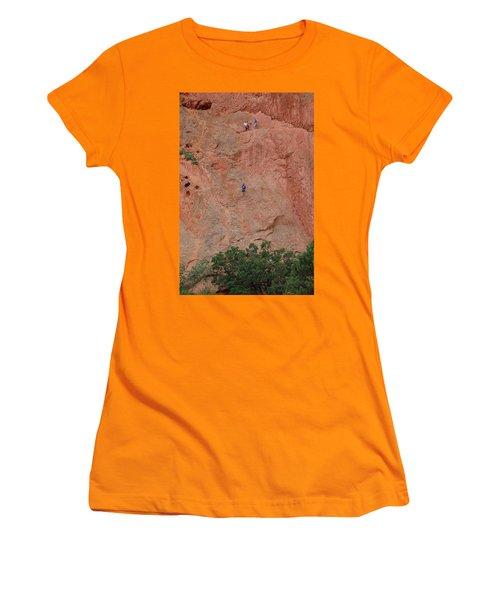 Coming Down The Mountain Women's T-Shirt (Junior Cut) by Randy J Heath