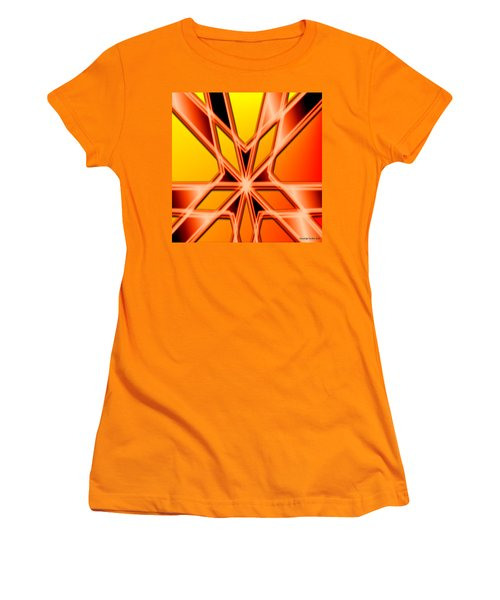 Women's T-Shirt (Junior Cut) featuring the digital art Deep Thought by George Pedro