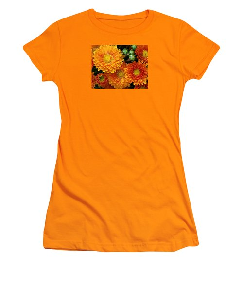 Women's T-Shirt (Junior Cut) featuring the photograph Fall Colors by Bruce Bley