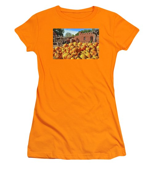 Fall Harvest Women's T-Shirt (Athletic Fit)
