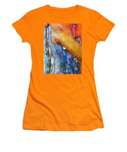Women's T-Shirt (Junior Cut) featuring the digital art Ganesh by Richard Laeton