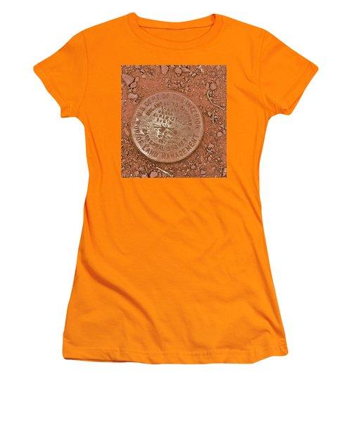 Land Survey Marker Women's T-Shirt (Junior Cut) by Bill Owen