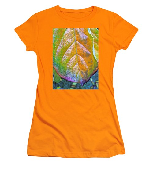 Leaf Women's T-Shirt (Junior Cut) by Bill Owen