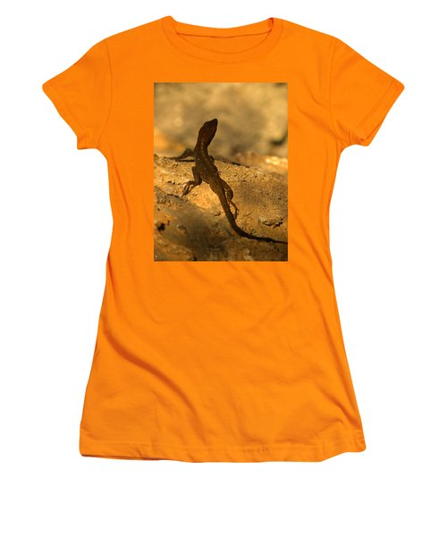 Leapin' Lizards Women's T-Shirt (Junior Cut) by Trish Tritz