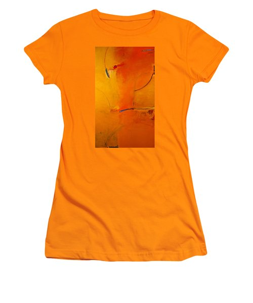 Women's T-Shirt (Junior Cut) featuring the painting Most Like Lee by Cliff Spohn