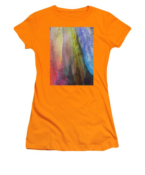 Women's T-Shirt (Junior Cut) featuring the digital art Move On by Richard Laeton