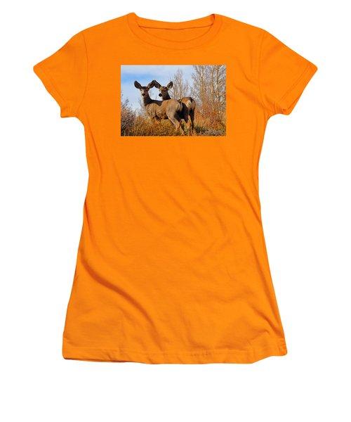Nature's Gentle Beauties Women's T-Shirt (Junior Cut) by Lynn Bauer