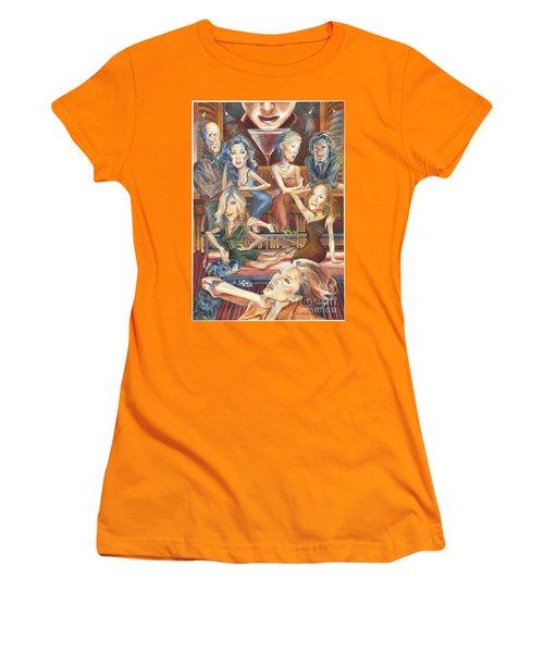 Paparazzi Paradise Women's T-Shirt (Athletic Fit)