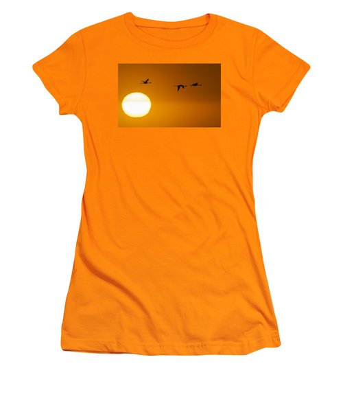 Sunset 3 Women's T-Shirt (Athletic Fit)