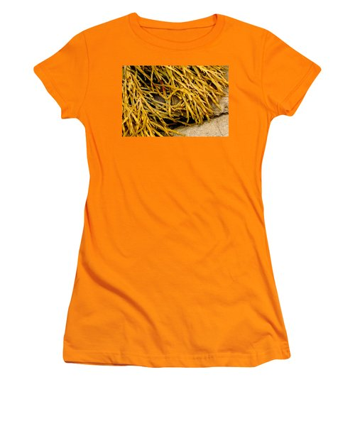 Yellow Kelp Women's T-Shirt (Junior Cut) by Brent L Ander