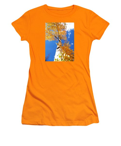 The Aspen Crown Dixie National Forest Utah Women's T-Shirt (Junior Cut) by Deborah Moen