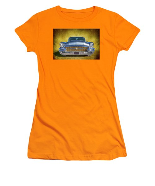 1955 Buick Women's T-Shirt (Athletic Fit)