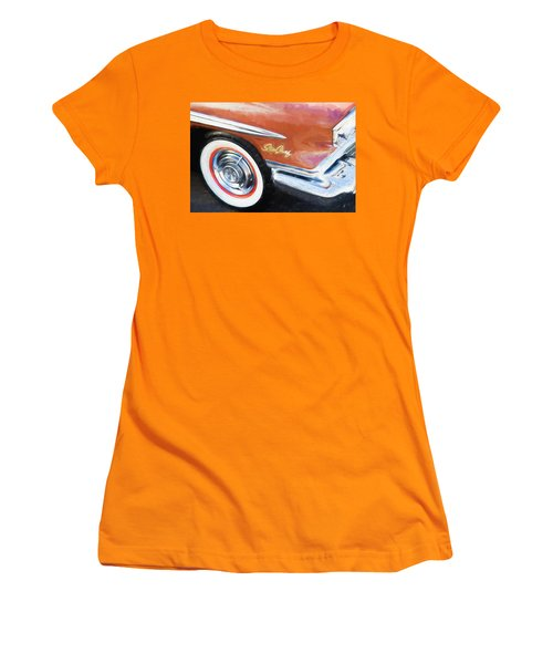 1958 Pontiac Star Chief  Women's T-Shirt (Junior Cut) by Rich Franco