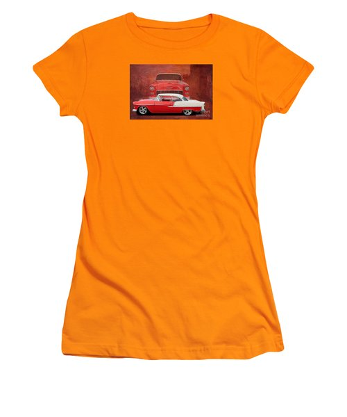 55 Chev Beauty Women's T-Shirt (Athletic Fit)