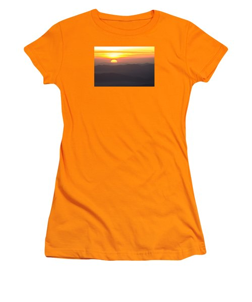 Women's T-Shirt (Junior Cut) featuring the photograph Appalachian Sunrise by Serge Skiba