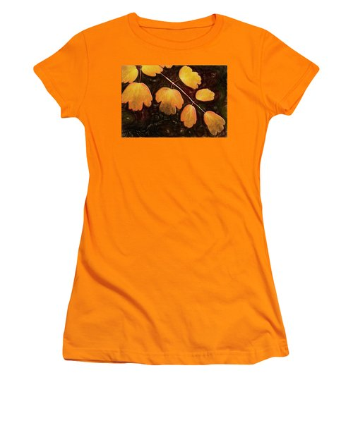 Women's T-Shirt (Athletic Fit) featuring the photograph Autumn Breeze by Paul Wear