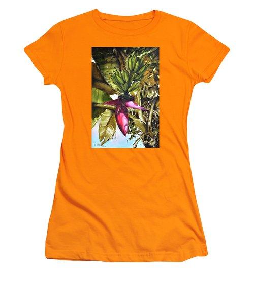 Banana Tree Women's T-Shirt (Junior Cut)