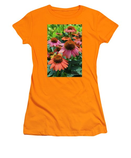 Cone Flower Women's T-Shirt (Athletic Fit)