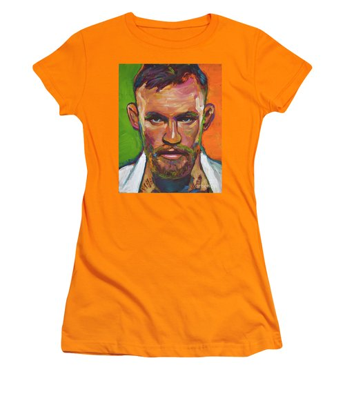 Conor Mcgregor Women's T-Shirt (Athletic Fit)