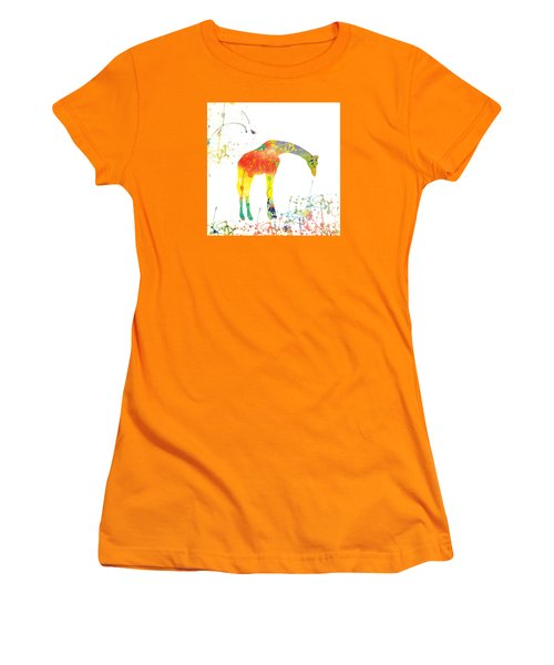 Women's T-Shirt (Junior Cut) featuring the digital art Hello by Trilby Cole