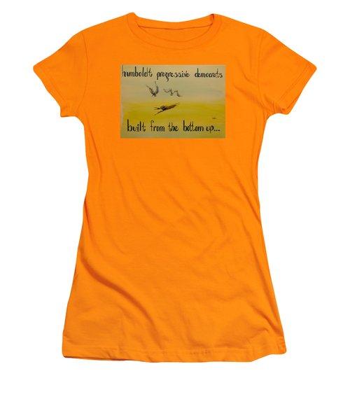Humboldt Progressive Democrats Women's T-Shirt (Athletic Fit)