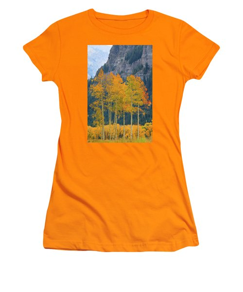 Women's T-Shirt (Athletic Fit) featuring the photograph Just The Ten Of Us by David Chandler