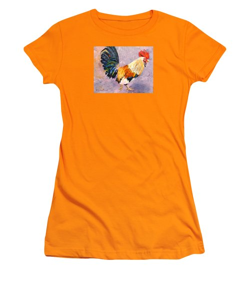 Key West Chicken Women's T-Shirt (Athletic Fit)