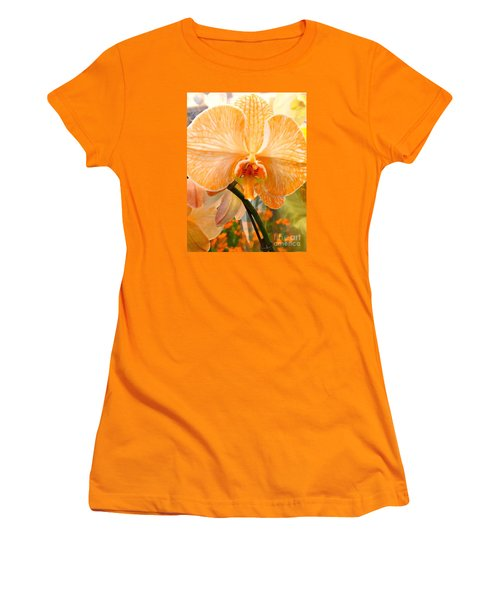 Orange Delight Women's T-Shirt (Athletic Fit)