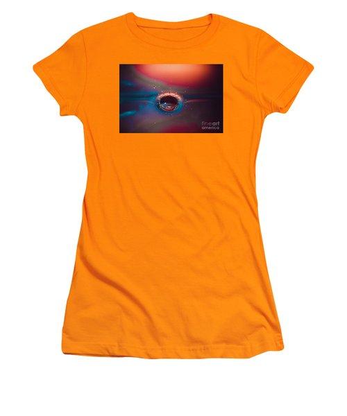 Rainbow Splash Women's T-Shirt (Athletic Fit)