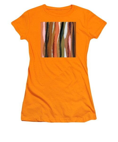 Ribbons Women's T-Shirt (Junior Cut) by Bonnie Bruno