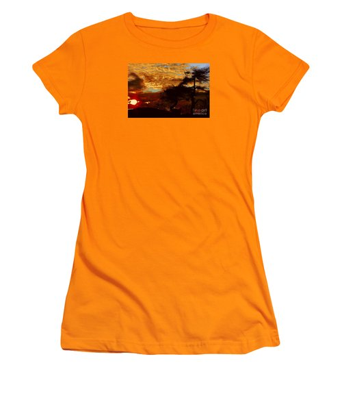 Sechelt Tree 2 Women's T-Shirt (Junior Cut) by Elaine Hunter