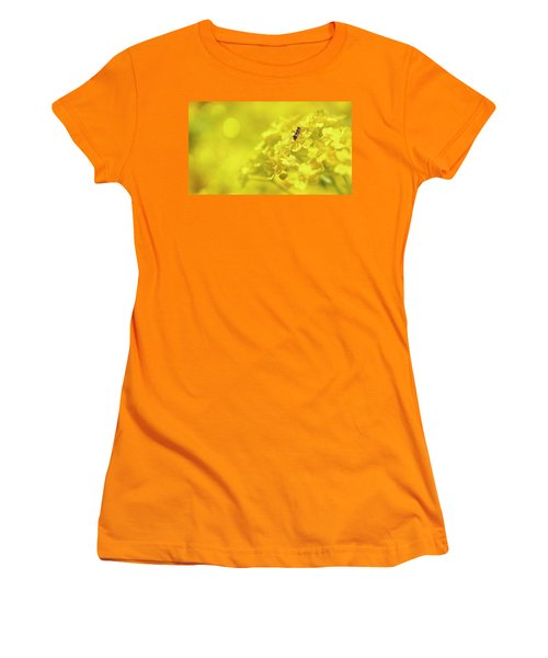 Set The Controls For The Heart Of The Sun Women's T-Shirt (Junior Cut) by John Poon