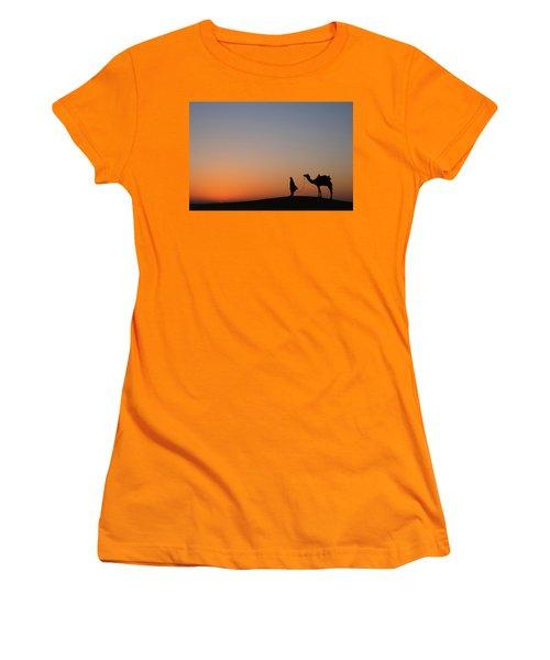 Skn 0866 Just Out Women's T-Shirt (Junior Cut) by Sunil Kapadia