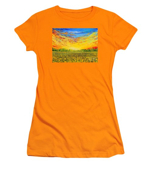 Summer Women's T-Shirt (Junior Cut) by Teresa Wegrzyn