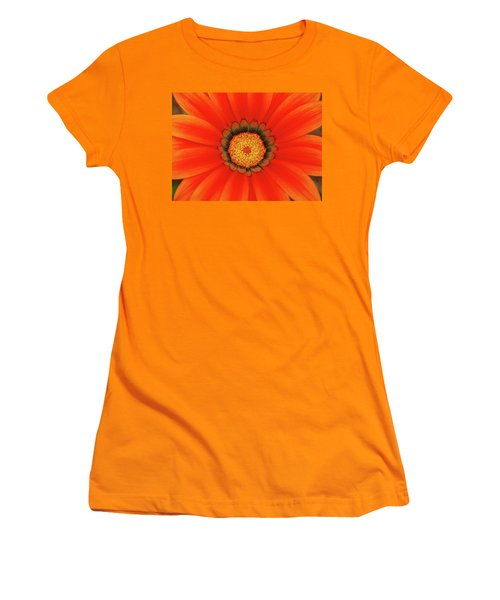 The Beauty Of Orange Women's T-Shirt (Athletic Fit)