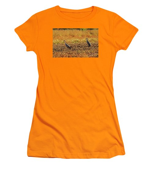 Three Amigos Women's T-Shirt (Junior Cut) by Robert Bales