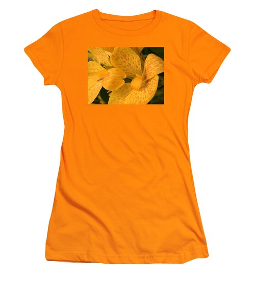 Yellow Lily Women's T-Shirt (Junior Cut) by Kay Gilley