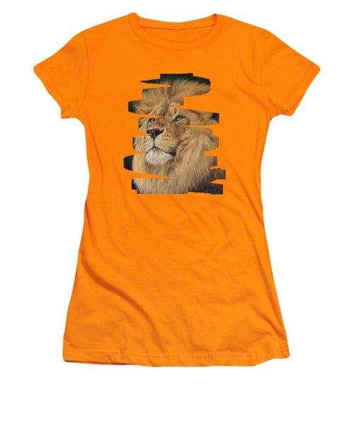 Lion Women's T-Shirt (Athletic Fit)