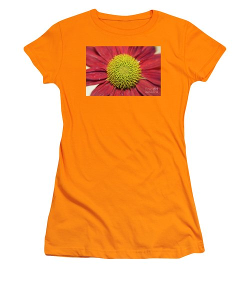 Red Flower Women's T-Shirt (Athletic Fit)