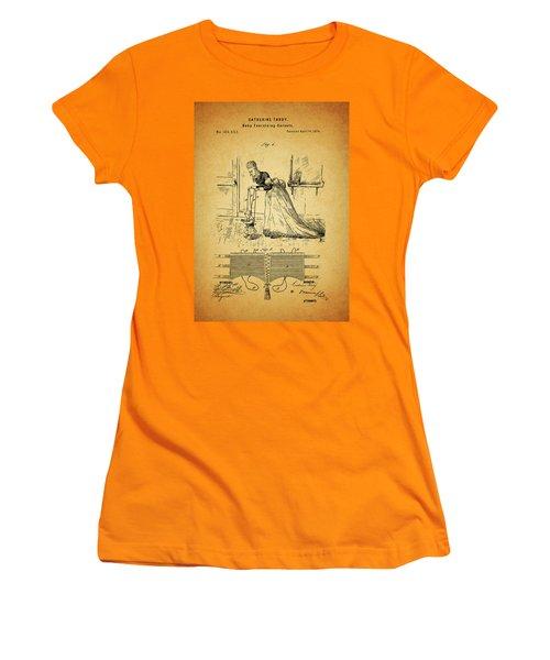 1874 Baby Exercising Corset Women's T-Shirt (Junior Cut) by Dan Sproul