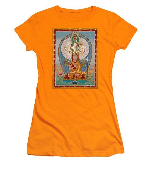Gelongma Palmo Women's T-Shirt (Junior Cut) by Sergey Noskov