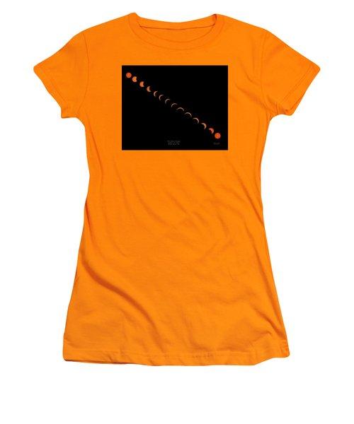 2017 Solar Eclipse Women's T-Shirt (Athletic Fit)