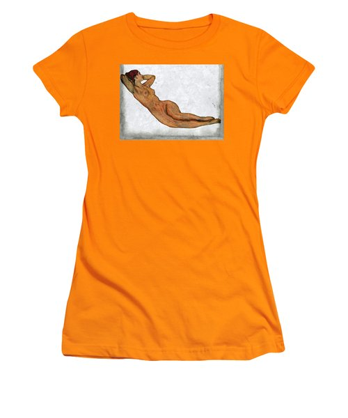 Nude Woman Women's T-Shirt (Athletic Fit)