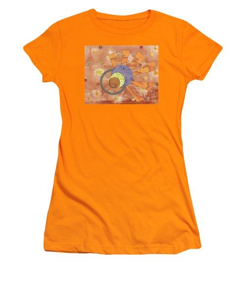 Women's T-Shirt (Junior Cut) featuring the mixed media 2life by Desiree Paquette