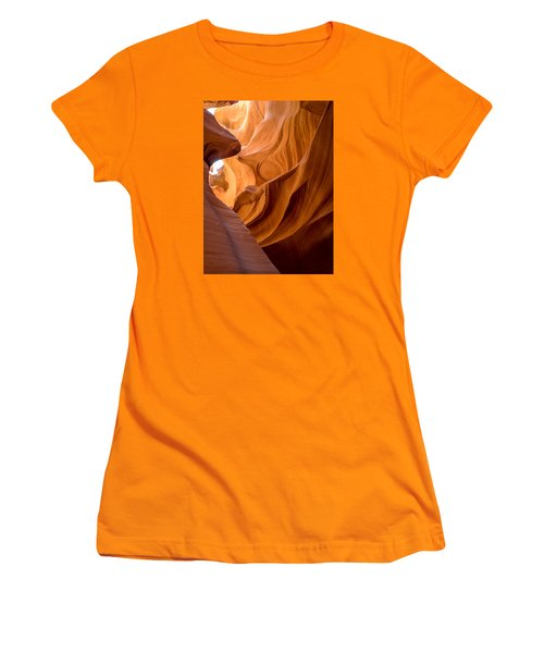 Lower Antelope Canyon Navajo Tribal Park #4 Women's T-Shirt (Athletic Fit)