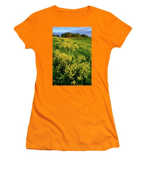 Wildflower Prairie In Glacial Park  Women's T-Shirt (Athletic Fit)