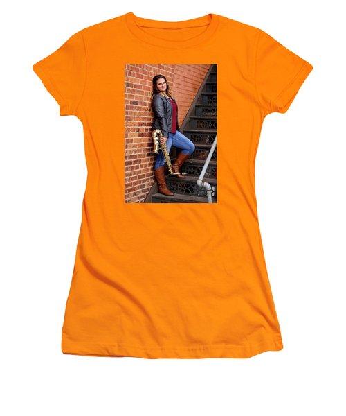 9g5a9460_ee Women's T-Shirt (Junior Cut) by Sylvia Thornton